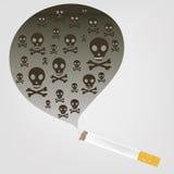 Het roken Royalty-vrije Stock Afbeeldingen