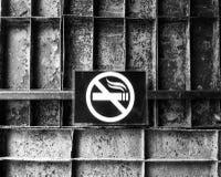 Het roken is belemmerd Royalty-vrije Stock Foto