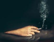 Het roken concept Royalty-vrije Stock Fotografie