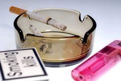 Het roken doden Stock Afbeelding