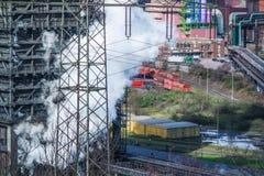 Het roken dooft toren van een cokery Royalty-vrije Stock Fotografie