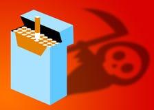 Het roken Gevaar stock illustratie