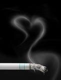 Het roken van het einde Royalty-vrije Stock Foto