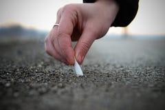 Het roken van het einde Stock Fotografie