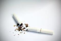 Het roken van het einde Royalty-vrije Stock Afbeelding