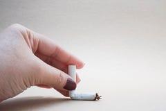 Het roken verbod royalty-vrije stock foto's