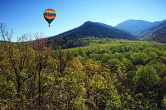 Het rokerige Nationale Park van de Berg Stock Foto's