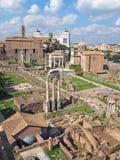 Het Roman Forum Stock Foto's