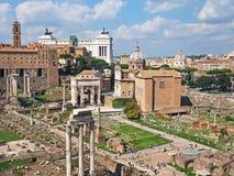 Het Roman Forum Stock Afbeelding