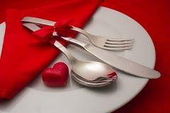 Het romantische Dineren Stock Foto's