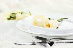 Het romantische lijst plaatsen Stock Foto's