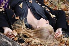 Het romantische meisje Royalty-vrije Stock Foto