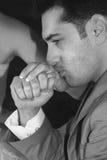 Het romantische ogenblik. royalty-vrije stock fotografie