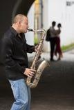 Het romantische Paar van de Jazz stock fotografie