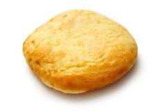 Het ronde broodje van het zure roomdessert Stock Fotografie