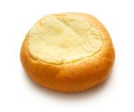Het ronde broodje van het zure roomdessert Royalty-vrije Stock Afbeeldingen