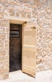 Het Ronde Huis, Kalksteendetails: Fremantle, Westelijk Australië stock foto