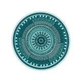 Het ronde patroon van ornamendmandala Stock Afbeelding