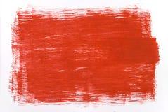 Het rood, trekt textuur Royalty-vrije Stock Foto's