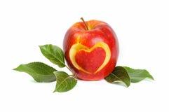 Het rood van de appel Royalty-vrije Stock Afbeeldingen
