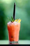 Het rood van de cocktail Stock Fotografie