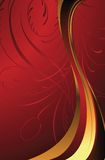 Het Rood van de elegantie stock illustratie