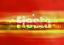 Het rood van de fiesta Royalty-vrije Stock Afbeeldingen