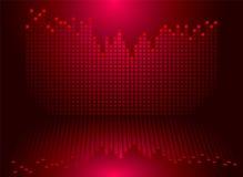 Het rood van de grafiek Royalty-vrije Stock Fotografie