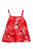 Het rood van de kleding stock afbeeldingen