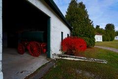 Het Rood van de Motor van de brand Royalty-vrije Stock Afbeelding