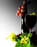 Het rood van de wijn Stock Foto's