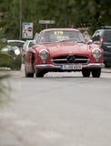 Het rood van MERCEDES van Millemiglia 2014 Royalty-vrije Stock Foto's
