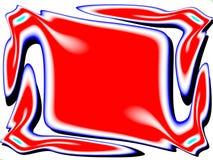 Het rood, wit en blauw Royalty-vrije Stock Foto