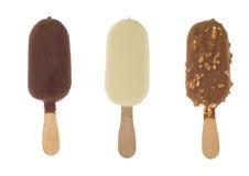 Het roomijs van de chocolade Stock Fotografie