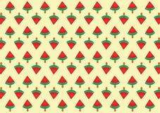 Het roomijspatroon van de watermeloen Royalty-vrije Stock Fotografie