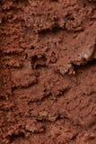 Het roomijstextuur van de chocolade Stock Foto's