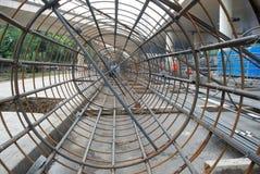 Het rooster van het staal Stock Foto