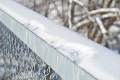 Het roosteren van een brug Stock Afbeelding