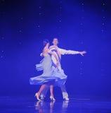 Het roteren dans-doga de wals-de werelddans van Oostenrijk Royalty-vrije Stock Fotografie