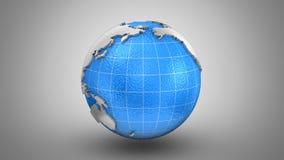 Het roteren van Aarde stock videobeelden