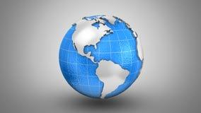 Het roteren van Aarde stock video