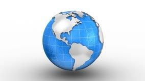 Het roteren van Aarde stock footage