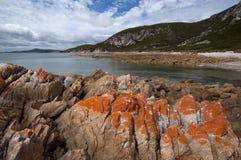 Het rotsachtige Nationale Park van de Kaap stock foto
