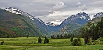 Het rotsachtige Uitzicht van het Park van de Berg Nationale Royalty-vrije Stock Foto