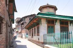 Het Roza Bal-heiligdom, het graf van Youza Asouph, India Royalty-vrije Stock Fotografie