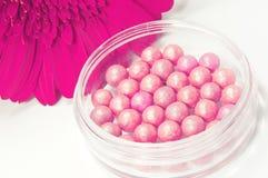 Het roze bloost en doorboort bloem Royalty-vrije Stock Afbeeldingen