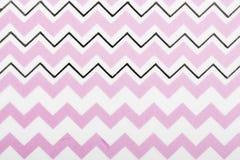 Het roze document van het de lijnenpatroon van het motiefontwerp witte voor textielbehangpatroon vult van de de drukgift van de d royalty-vrije stock afbeelding