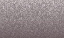 Het roze geregelde abstracte symbool van het bolgebied Stock Afbeeldingen