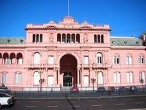 Het Roze Huis stock afbeeldingen