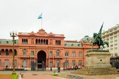 Het Roze Huis, Buenos aires royalty-vrije stock foto
